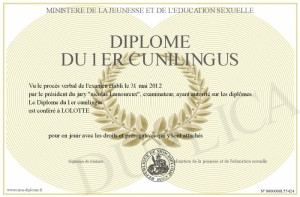700-155424-Diplôme du 1er cunilingus